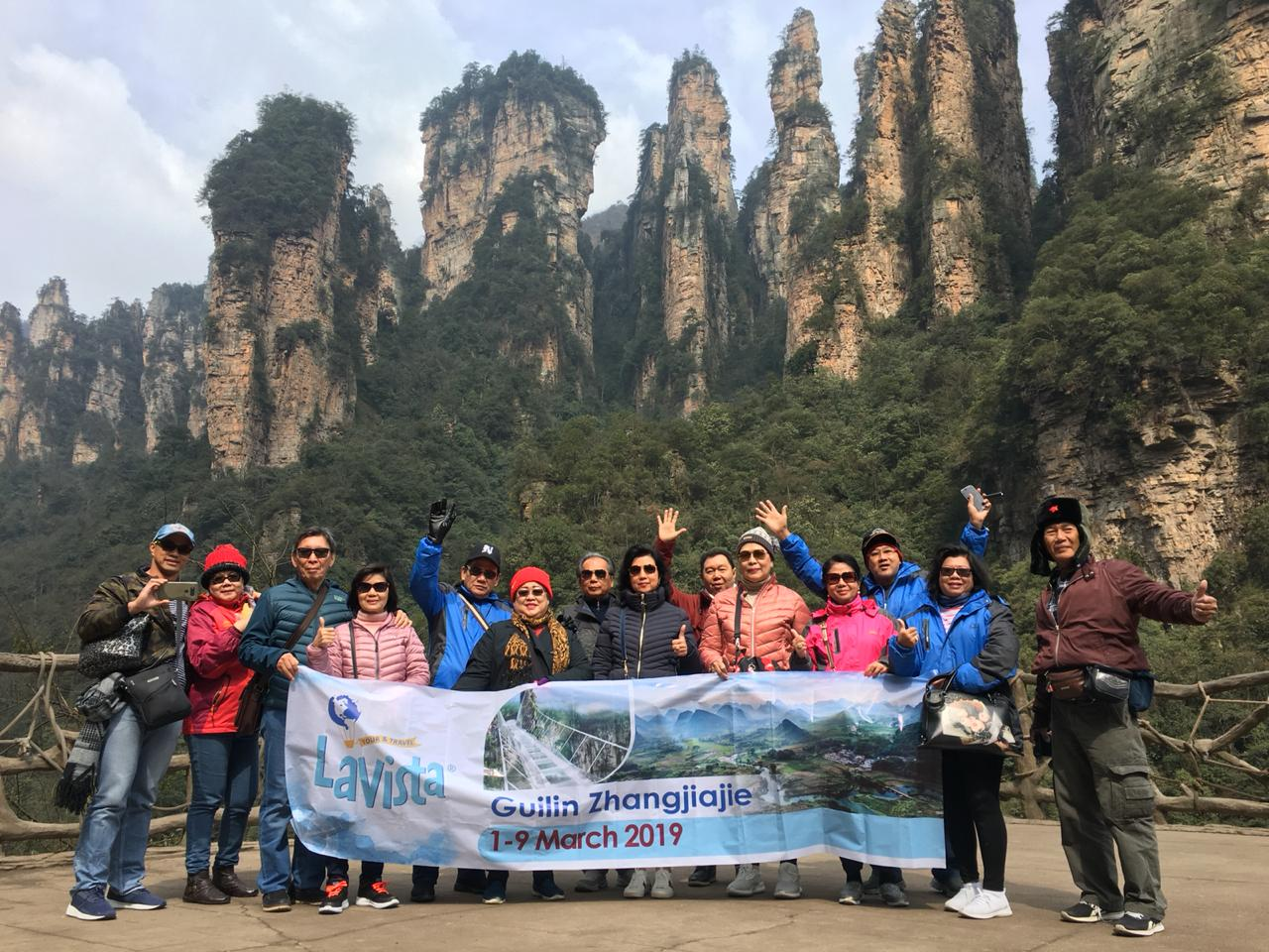 Guilin ZhangJiajie 2 Maret 1 2019
