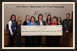 City Employees Make Clinic Donation
