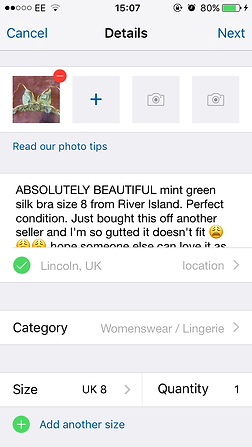 c3971a87498c Depop has lots of tips on selling items so you can get the best value for  your money.