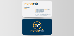 ZygoFix עיצוב לוגו וכרטיס ביקור
