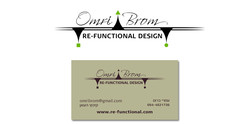 עיצוב לוגו וכרטיס ביקור