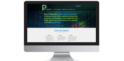 PetaCloud site and logo design
