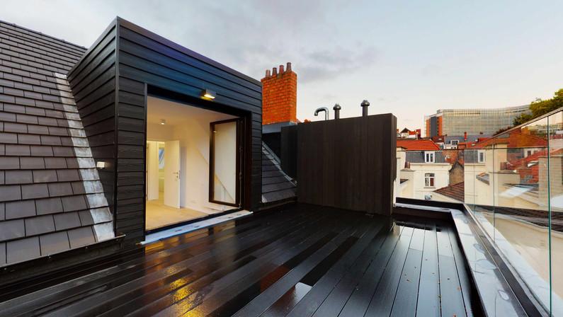 Photo penthouse Bruxelles