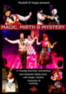 Kids magic show Melbourne Magic, Mirth and Mystery
