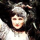 gatsby girl themed tarot reader