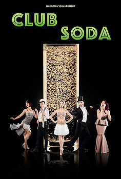Cabaret Show Club Soda from Raconteur Productions
