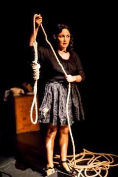 Julia Foenander as Dita - Lost In Venice