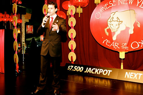 MC Star Casino Melbourne magician Richard Vegas
