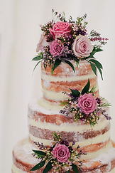 classy tiered cake decorated with flowers for hens night melbourne
