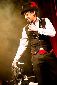 Mc Richar Vegas as Monsieur Marveaux from Paris Underground Melbourne Magician