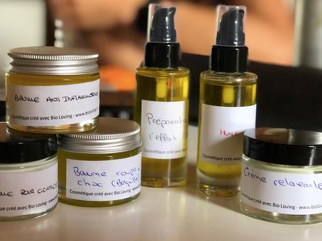 Des produits de massages 100% naturels et transparents
