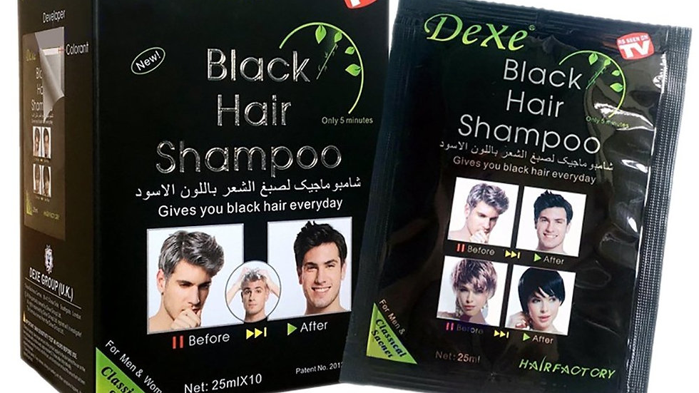 Shampoing colorant Noir
