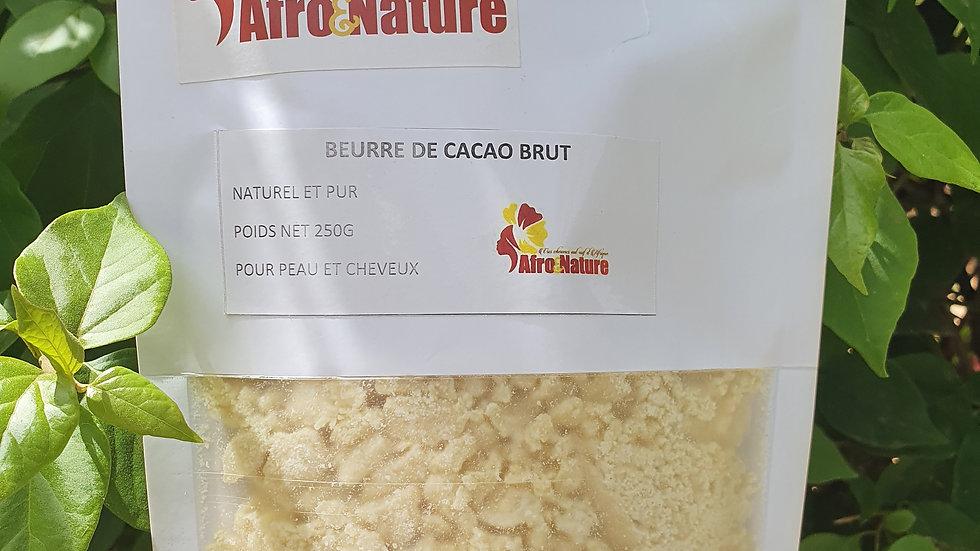 Beurre de cacao brut 250g