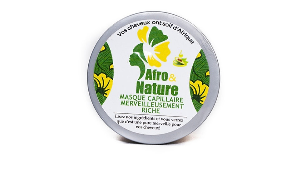 Hair mask with avocado buttert PM