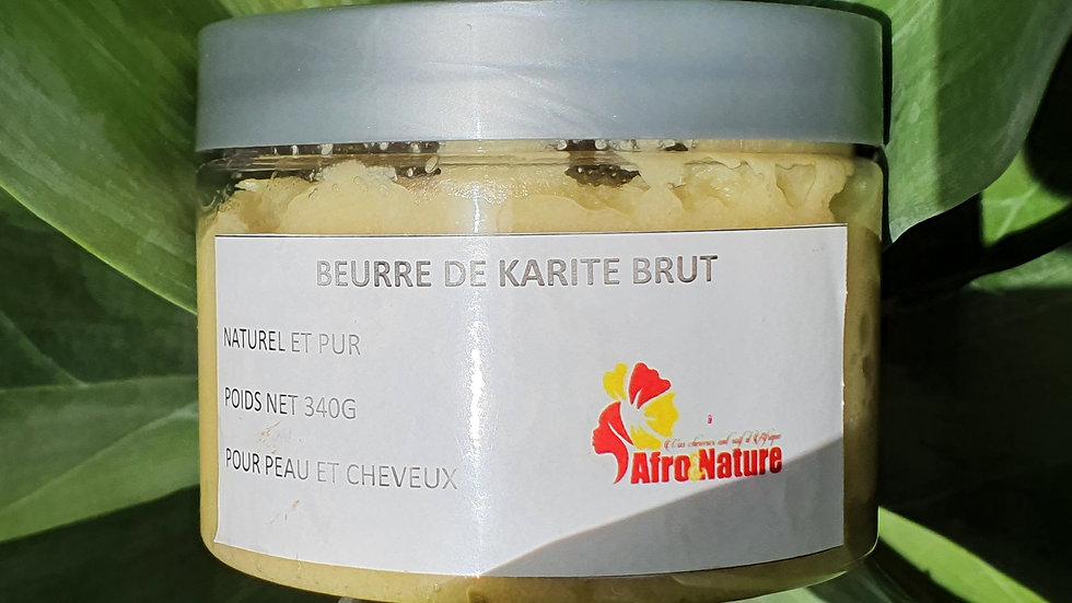 Beurre de Karité brut 340g