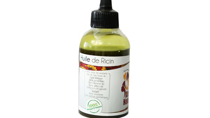 Huile de ricin noir du Sénégal / Senegalese black castor oil