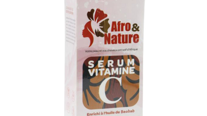 Vitamin C serum enriched with Baobab oil