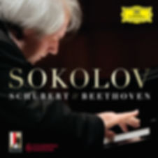 Grigory Sokolov / Григорий Соколов - pianist. CD Schubert / Beethoven