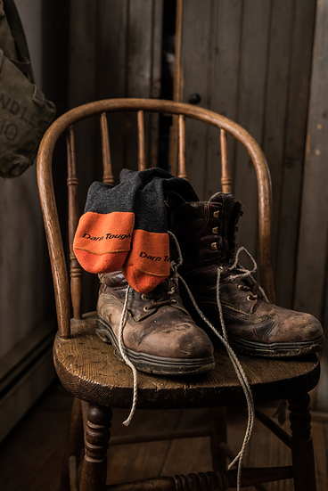 Steely Boot Sock - Cushion w/full cushion toe