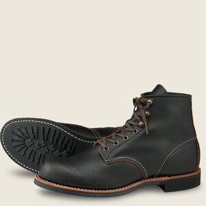 Red Wing Blacksmith - 3345 - Black Prairie Leather
