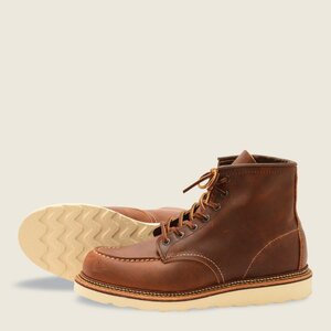 Red Wing Classic Moc - 1907 - Copper Rough and Tough Leather