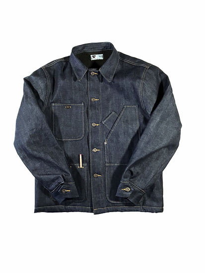 SHERPA LINED COVERALL JACKET Selvedge Denim