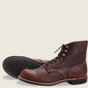 Red Wing Iron Ranger - 8111 - Amber Harness Leather