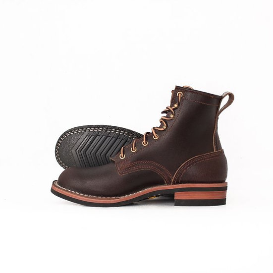 Falcon Brown Waxed Flesh Moderate Arch