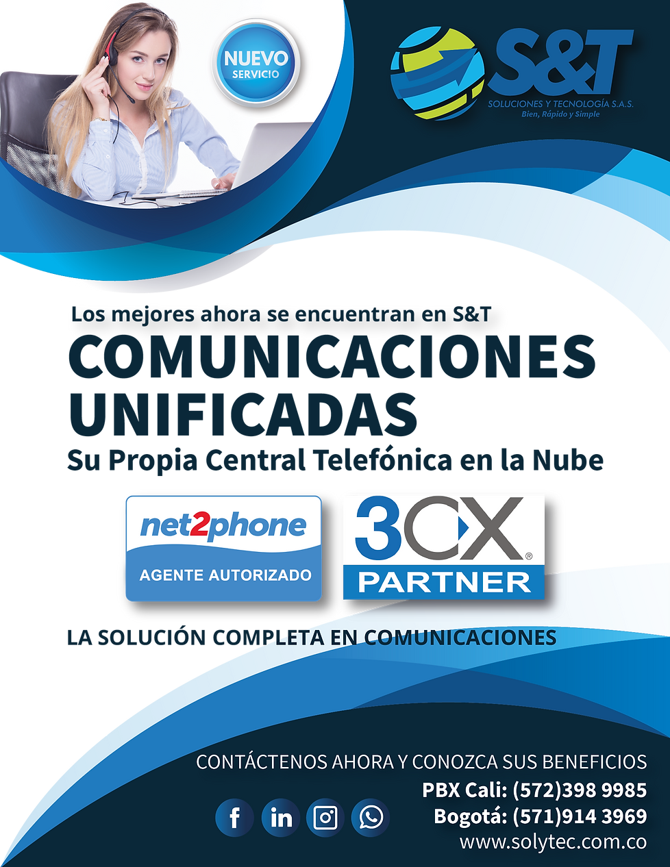 Prueba 3S&T Comunicaciones Unificadas 1@