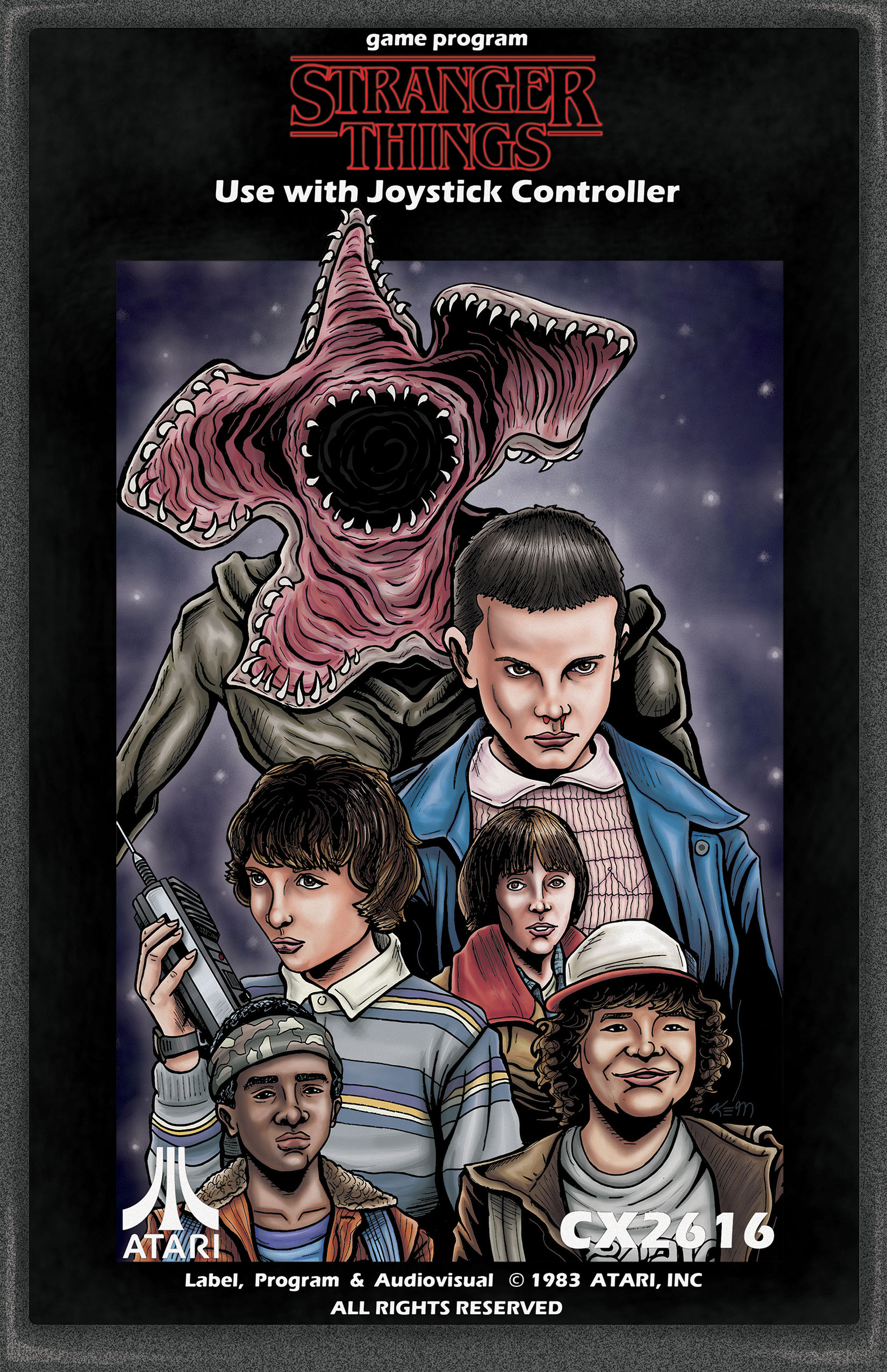 stranger things ATARI