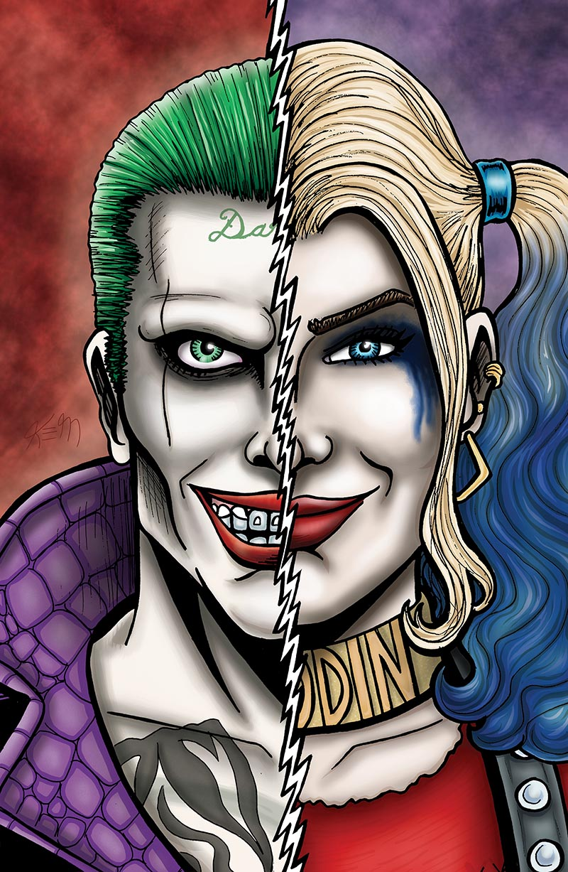 joker vs harley