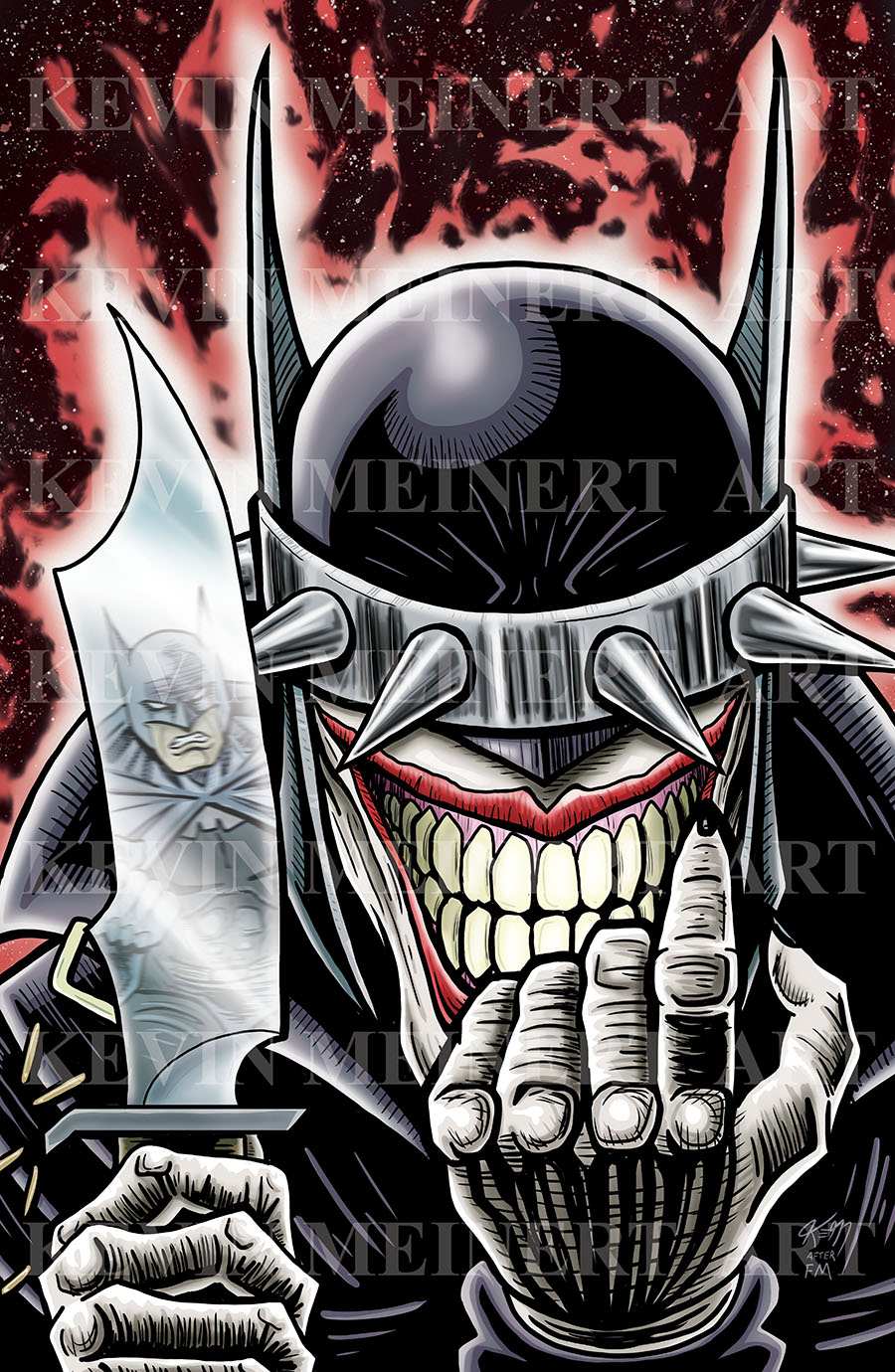 batman who laughs wolverine