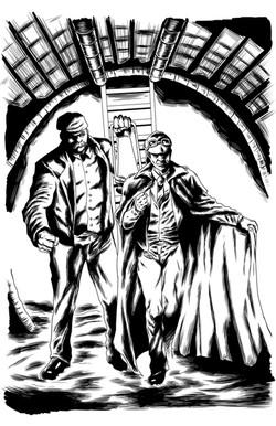 CRIMSON SHADOWS ISSUE #2 - pg1 inks
