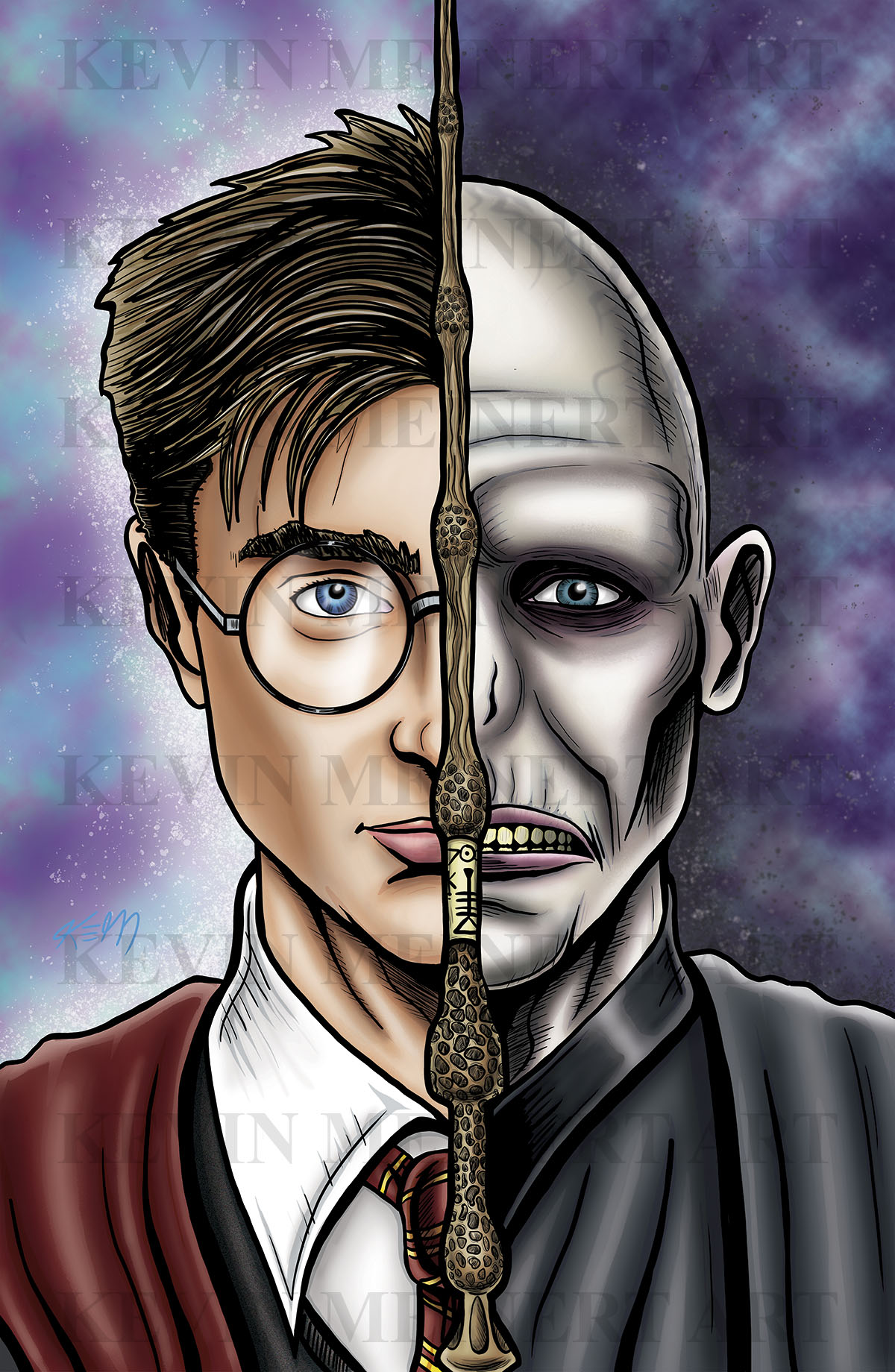 harry potter vs valdermort
