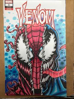 Spidy Venom Carnage sketch cover_edited.