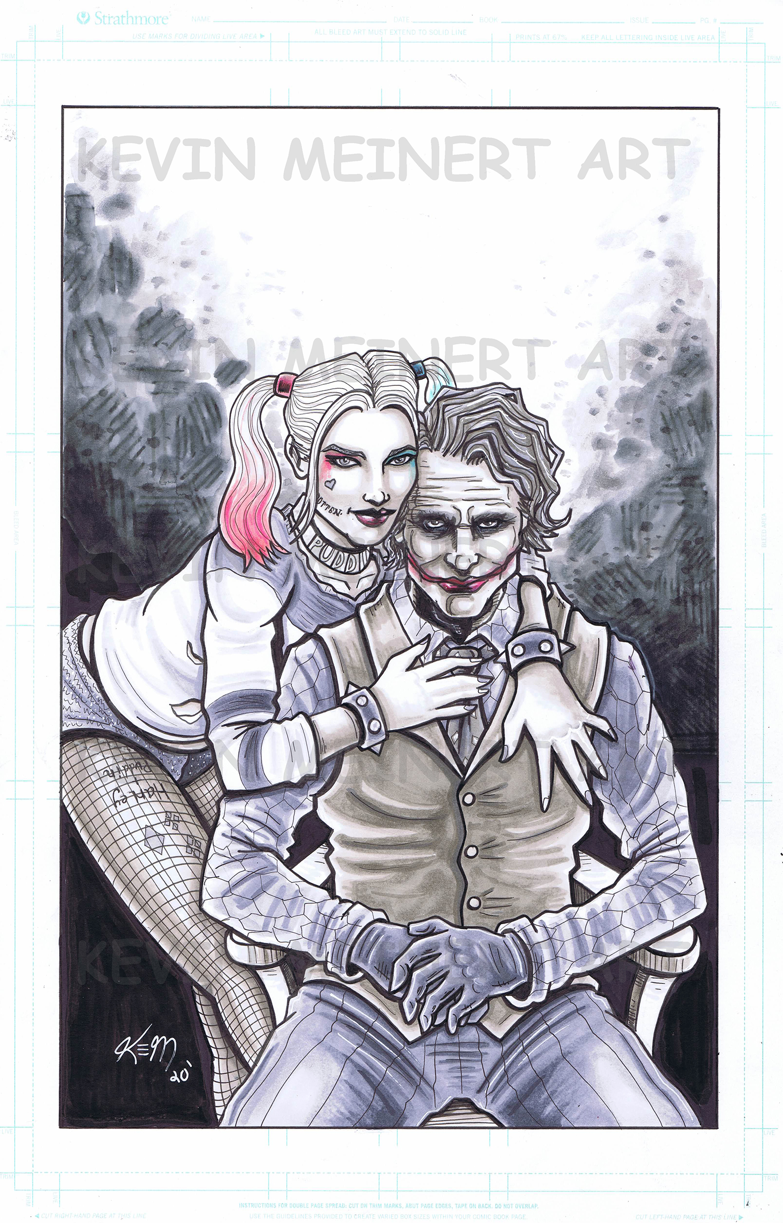 Harley Joker commission