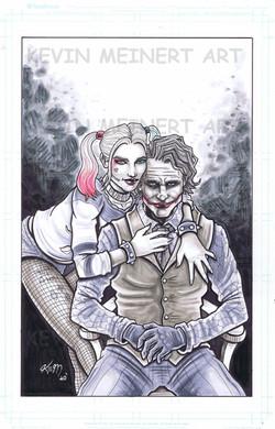 Harley Joker commission