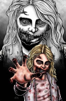 walking dead girl
