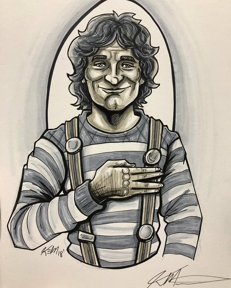 Mork Sketch SDCC