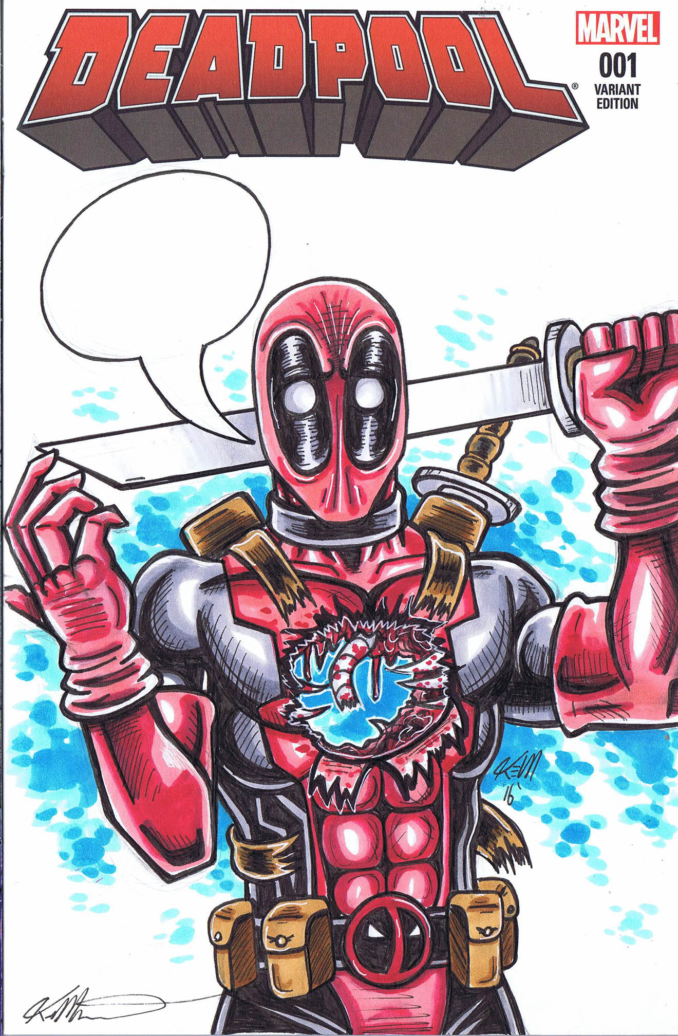 deadpool 1 sketchcover