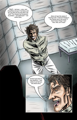 POE ISSUE #2 tell tale heart pg 1