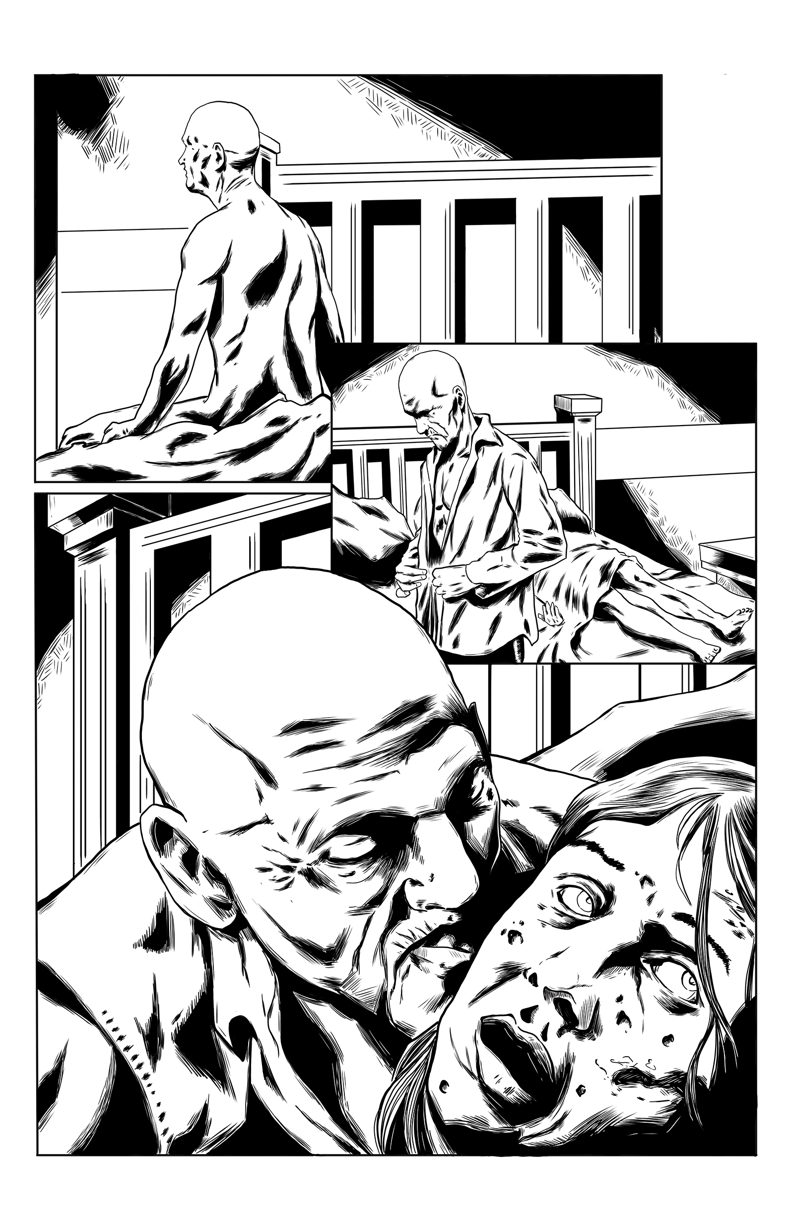 Crimson shadows issue 1 pg 3 inks