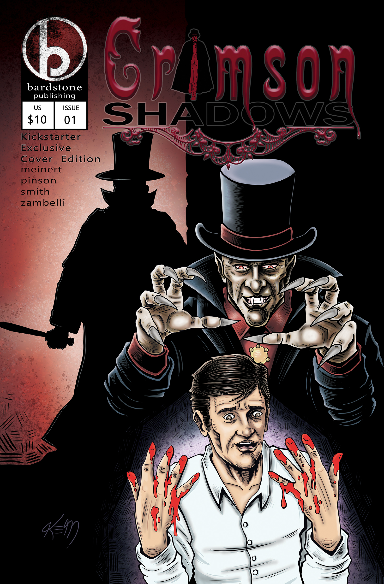 CRIMSON SHADOWS #1 COVER