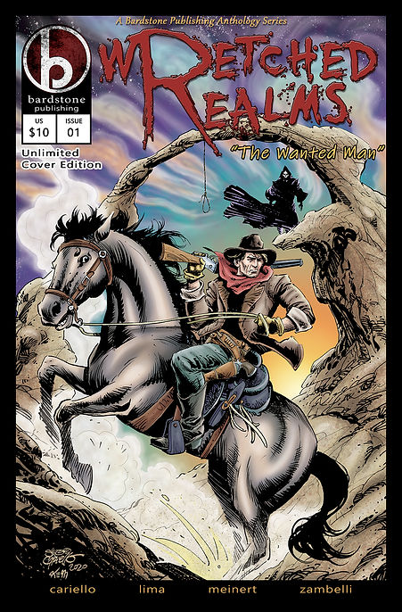 Wretched Realms Comic Cover UNLIMITED jp
