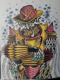power rangers Dogranio Yaboon (Lupinrang