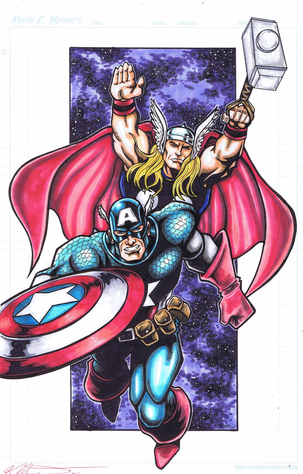 cap thor commission