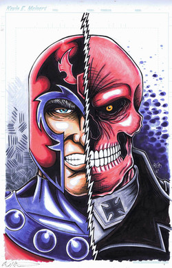 magneto red commish
