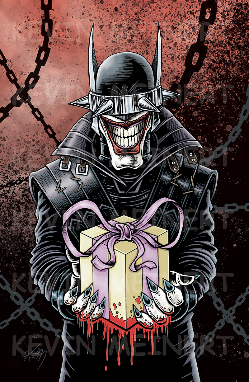 batman who laughs box