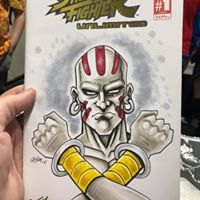 streetfighter sketch cover
