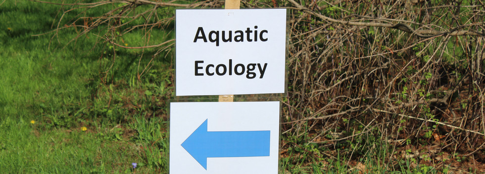 This way to the Aqautic Ecology Station
